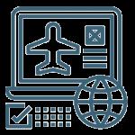 Flight ticket booking service |Meteor Travel | MTT | Travel Agency | Coach rental